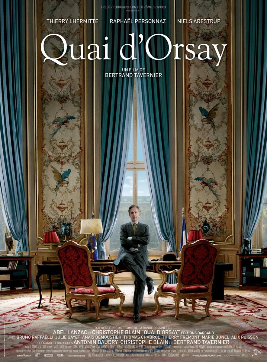 quai d'orsay poster