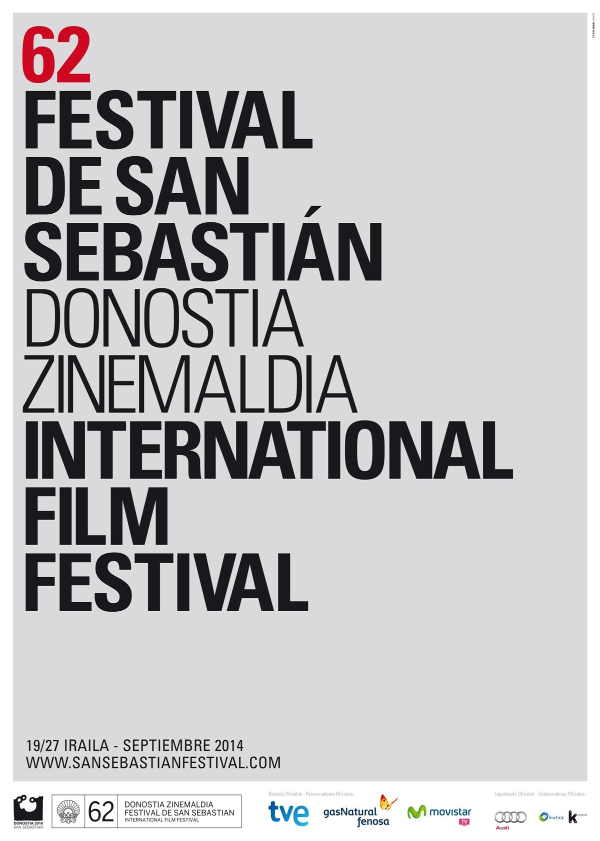 62 Festival de San Sebastián (Poster)